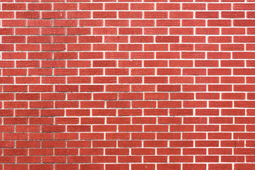 Red brick wall - high resolution background texture