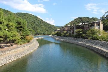 Uji River . Uji . Kyoto Perfection . Japan