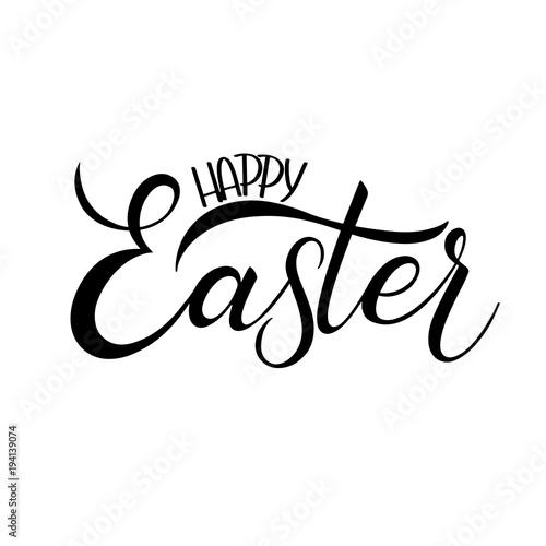 Happy easter lettering hand written easter phrases seasons hand written easter phrases seasons greetings m4hsunfo