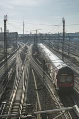 Berlin railways scenery