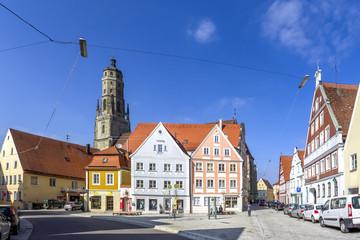 St. Georgs Kirche, Brettermarkt, Nördlingen Fotomurales