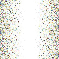 seamless colored confetti background