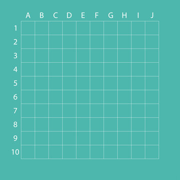 Cells for the game. Figures from 1-10. Letters from a-j