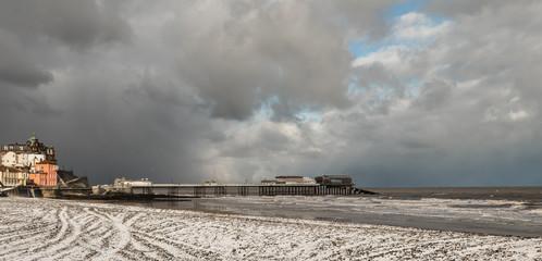 Cromer, Norfolk, UK, on a winter's day