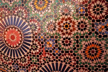 Morocco Arab mosaic