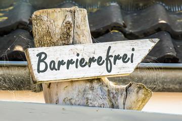 Schild 247 - Barrierefrei