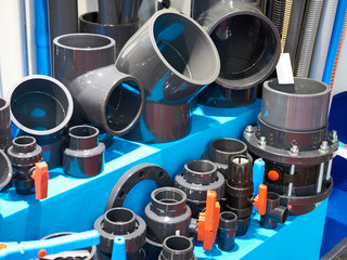 PVC fittings for sewer system