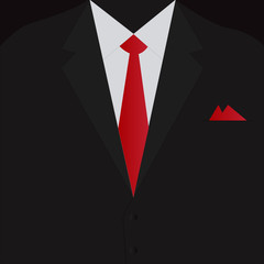 Business Suit Illustration