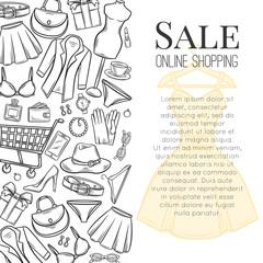 online shop page template design