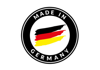 Made in Germany Icon Schwarz