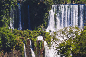 Iguassu Falls, view from Argentinian side.
