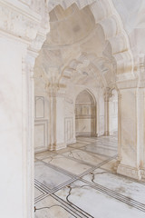 Marble Arches in Agra India