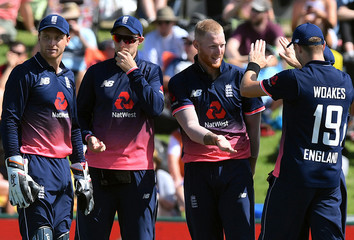 Cricket - ODI - New Zealand vs England - Bay Oval, Tauranga, New Zealand