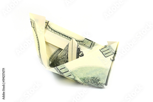 Dollar Origami: Ship | 1 Dollar | Easy tutorials and how to's for ... | 334x500