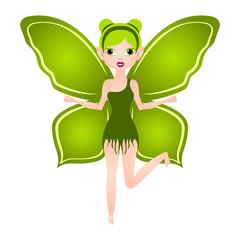 Cute magic fairy. Fantasy creature