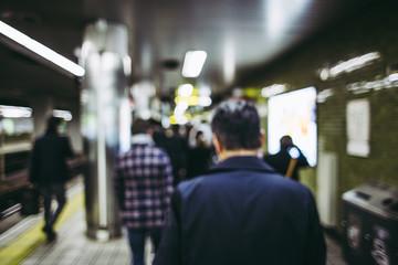 駅 交通イメージ 都会