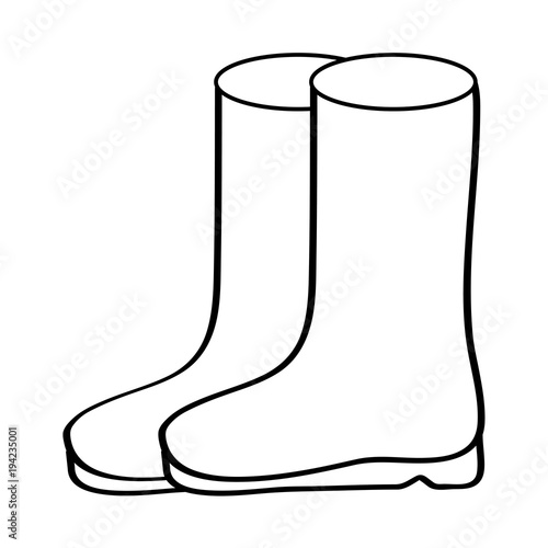 Pair rubber boots clothes season fashion vector illustration sticker pair rubber boots clothes season fashion vector illustration sticker design stock image and royalty free vector files on fotolia pic 193523289 maxwellsz