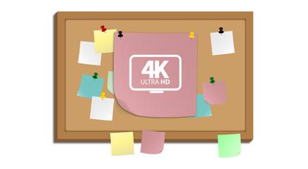 Pinnwand - 4K Ultra HD