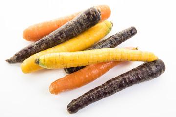 Karotten-Mix, Orange, Creme & Violett
