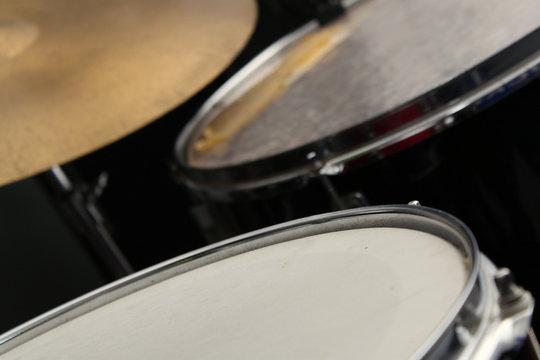 Schlagzeug Drums Fell Becken abstrakt Musik
