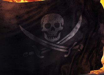 Pirate flags. Pirate flags Design Study
