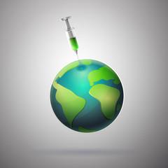Medicine to save the world
