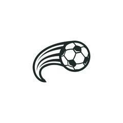 soccer logo vector modern symbol football template