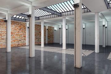 leerstehendes Bürogebäude - Lagerhalle - Bürofläche - Gewerbefläche - Immobilie - Loft