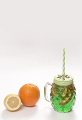 citrus lemonade with lime orange and lemon