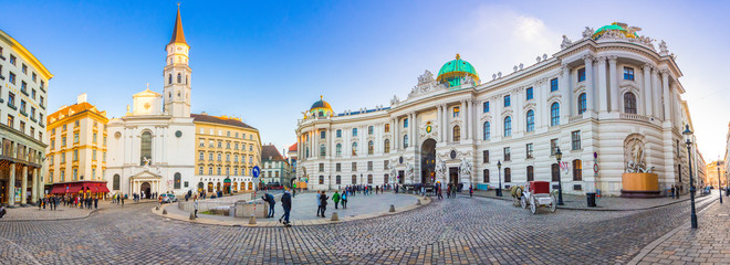 Royal Palace of Hofburg in Vienna, Austria