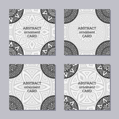 Set of 4 creative covers.