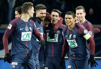 Coupe de France Quarter Final - Paris St Germain vs Olympique de Marseille