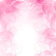 Floral romantic tender pink background.