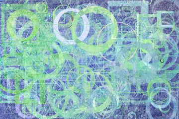 Abstract shape illustrations background. Pattern, design, triangle, brushed & artwork.