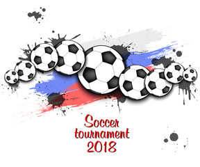 Logo Soccer tournament 2018