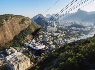 Cable Car to Morro da Urca and Sugarloaf Mountain, Rio de Janeiro, Brazil