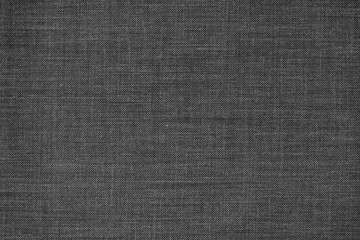 Black fabric texture background