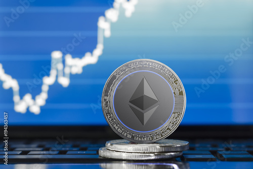 physical ETHEREUM (ETH) cryptocurrency