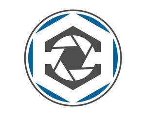 hexagon camera photo photography photographer photographic image vector icon