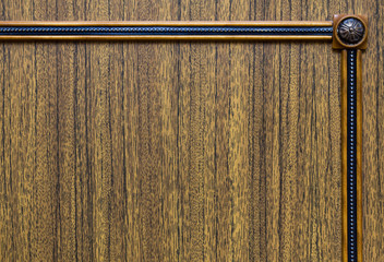 Brown decorative wooden texture