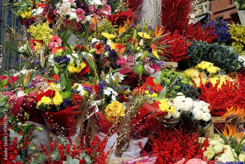 ramos de flores muchos colores tonos Stock photo and royaltyfree