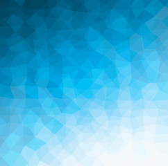 blue geometric pattern background, abstract vector texture for web and design