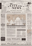 Design of old vintage newspaper template showing articles with ...