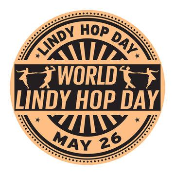 World Lindy Hop Day stamp