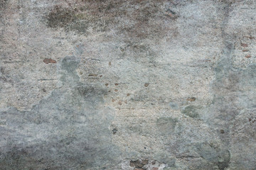 Old plaster wall. Aged concrete texture.