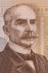 Kaarlo Juho Stahlberg portrait from Finnish money