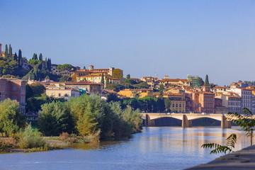 フィレンツエのアルノ川