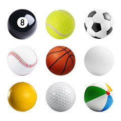Many different balls