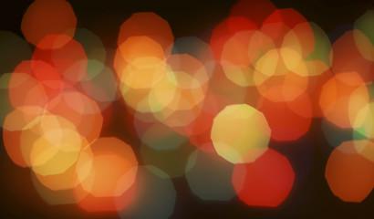 Blurred abstract pattern - circle light balls photo background