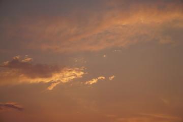 Beautiful nature background. Colorful sunset. Dramatic sky.